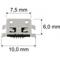 Wtyk RJ45 UGREEN Ethernet 8P/8C Cat.5/5e UTP 10szt